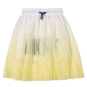 DKNY DKNY Yellow Logo Skirt 16 years