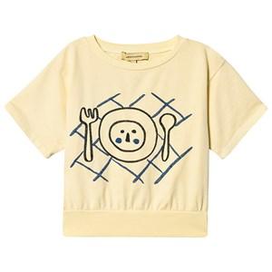 Weekend House Kids Weekend House Kids Pastel Yellow Table Short Sweatshirt 3-4 Years