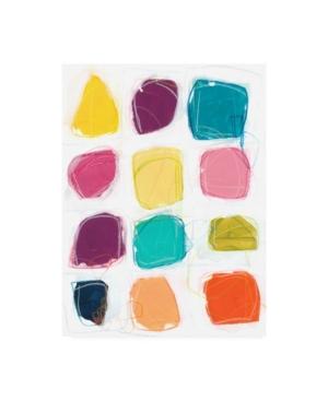 """June Erica Vess Vivid Windows I Canvas Art - 15.5"""" x 21"""""""
