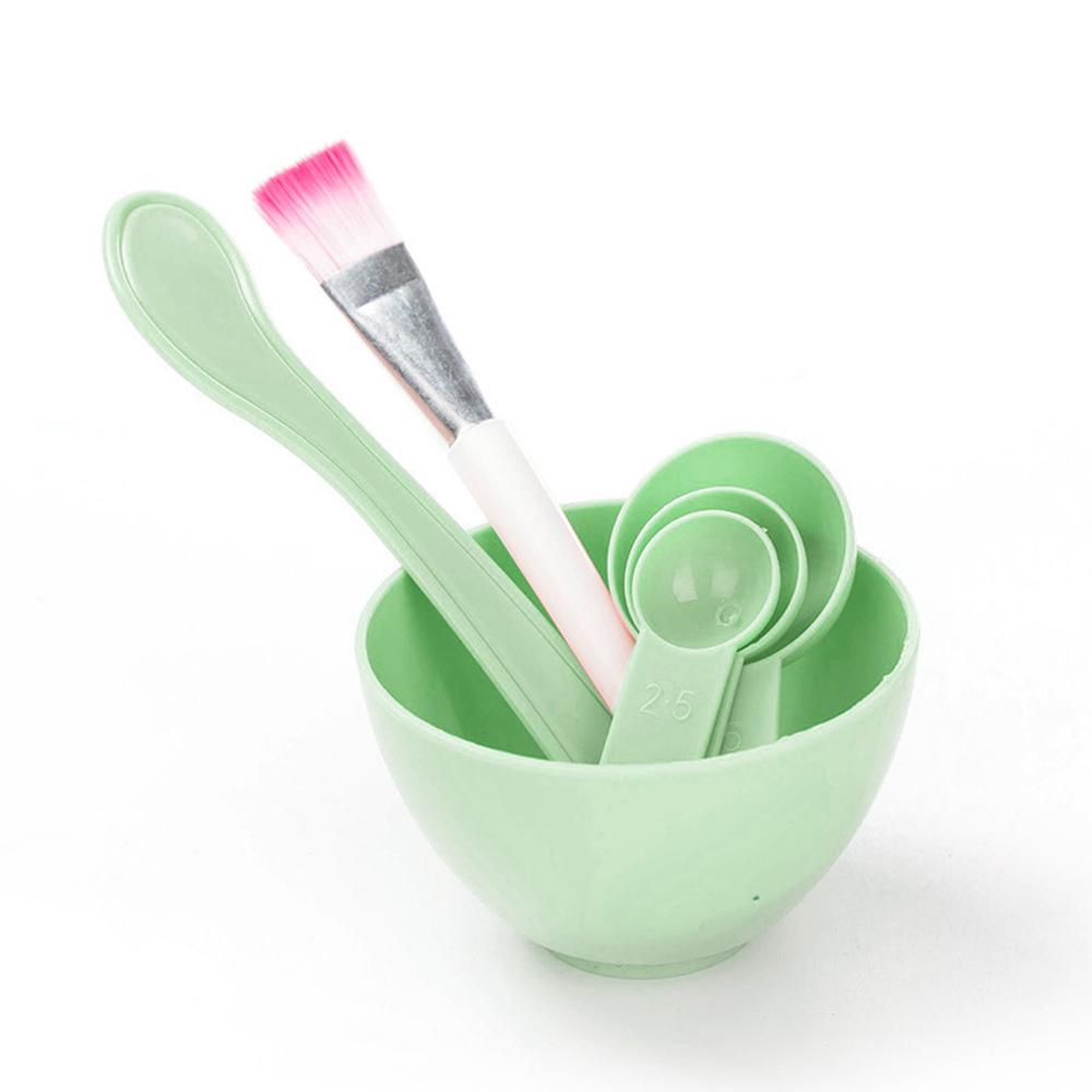 面膜套裝四件組 綠色