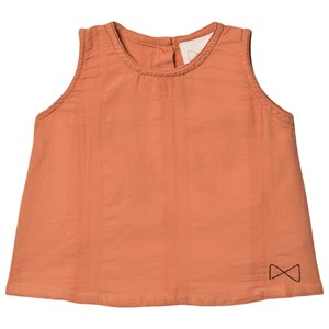 Mini Sibling Mini Sibling Salmon Pink A Line Top 3-6 Months