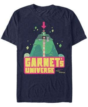 Fifth Sun Men's Steven Universe Garnet's Universe Cartoon Short Sleeve T- shirt