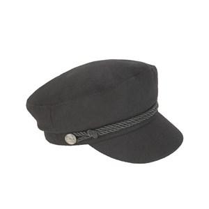 Sonia Rykiel Black Fanin Hat One Size