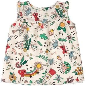 Sonia Rykiel Sonia Rykiel White Fun Dress and Shorts Set 3 months
