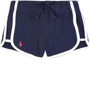 Ralph Lauren Navy Mesh Sports Shorts 4 years