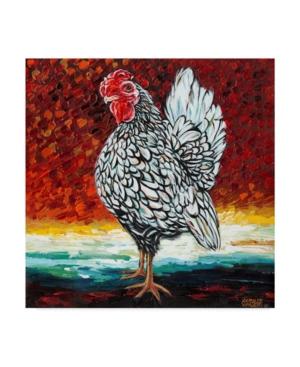 """Carolee Vitaletti Fancy Chicken Ii Canvas Art - 15"""" x 20"""""""