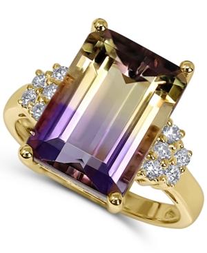 Ametrine (6 ct. t.w.) & Diamond (1/5 ct. t.w.) Statement Ring in 14k Gold