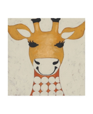 "Chariklia Zarris Zoo Portrait Iv Canvas Art - 15.5"" x 21"""