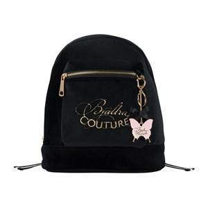 Bjällra Couture Bjällra Couture Black Velvet Backpack One Size