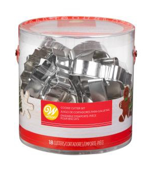Wilton 18-Pc. Holiday Cookie Cutter Set