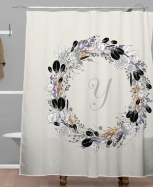 Deny Designs Iveta Abolina Silver Dove Y Shower Curtain Bedding