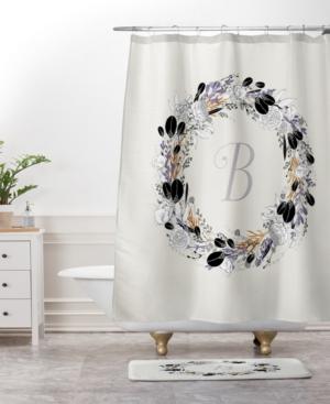 Deny Designs Iveta Abolina Silver Dove Z Bath Mat Bedding