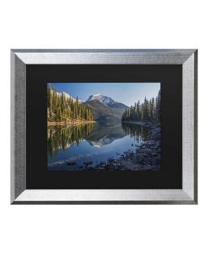 "Pierre Leclerc Jasper Morning Matted Framed Art - 20"" x 25"""