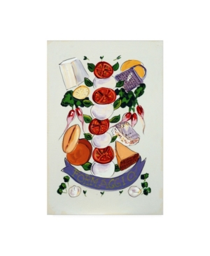 "Patricia A. Reed Formaggio Canvas Art - 36.5"" x 48"""