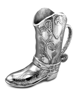 Wilton Armetale Serveware, Cowboy Boot Pitcher