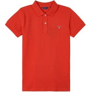GANT Red Logo Polo Shirt 134-140cm (9-10 years)