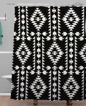 Deny Designs Holli Zollinger Geo Panel Shower Curtain Bedding