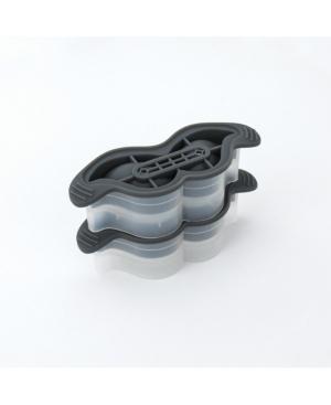 Tovolo Leak-Free, Slow-Melting Novelty Mustache Ice Molds With Silicone Sealed Lid