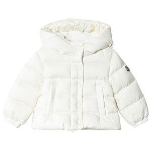 Moncler White Nana Down Jacket 2 years