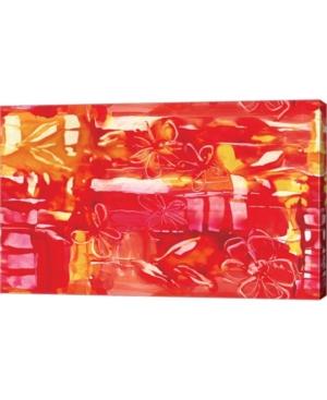 "Metaverse Fiery by Stessi Canvas Art, 25.5"" x 16"""