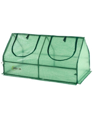 Ogrow Compact Outdoor Seed Starter Greenhouse Cloche with Pe Protection Cover for Protected Gardenin