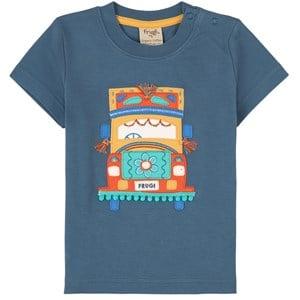 Frugi Frugi Blue Truck T-shirt 5-6 years