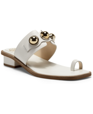 Vince Camuto Women's Yevinny Embellished Slip-On Sandals Women's Shoes