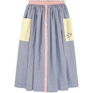 Sonia Rykiel Navy Striped Skirt 14 years
