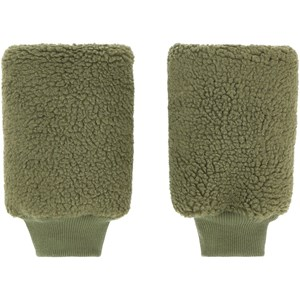 Tinycottons Green Wood Sherpa Leg Warmers One size