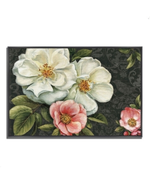 """Tangletown Fine Art Floral Damask I by Lisa Audit Fine Art Giclee Print on Gallery Wrap Canvas, 47"""""""
