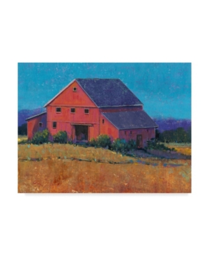 "Tim Otoole Colorful Barn View Ii Canvas Art - 15"" x 20"""