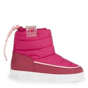 Pepe Jeans Pink Brixton Snow Boots 34 EU