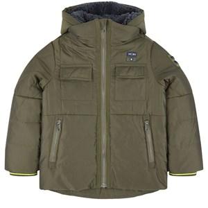 IKKS IKKS Green Padded Coat 12 years