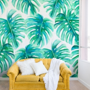 Deny Designs Jacqueline Maldonado Paradise Palms 8'x8' Wall Mural