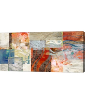 """Metaverse Summertime by Amber King Canvas Art, 32"""" x 16"""""""