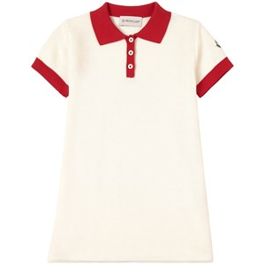 Moncler Cream Abito Polo Dress 12 years