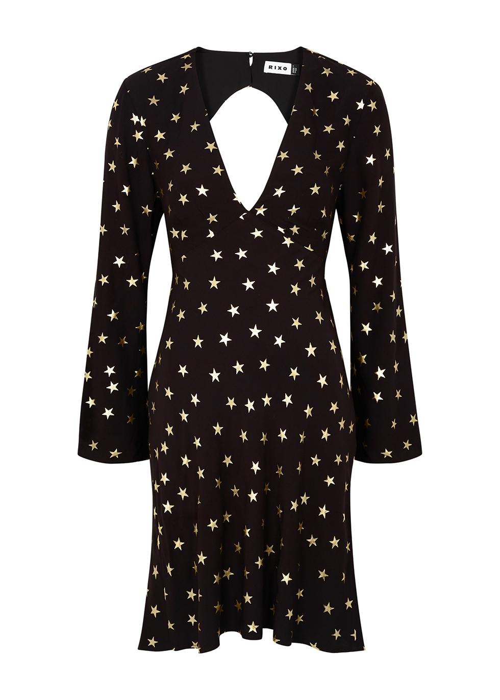 Sophie star-print mini dress