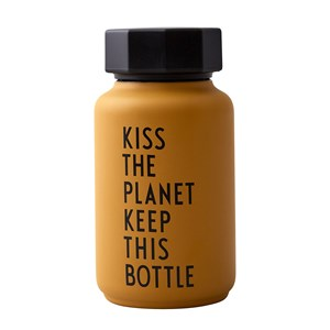 Design Letters Design Letters Kiss The Planet Thermos Bottle One Size
