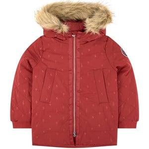 IKKS Red Padded Coat 10 years