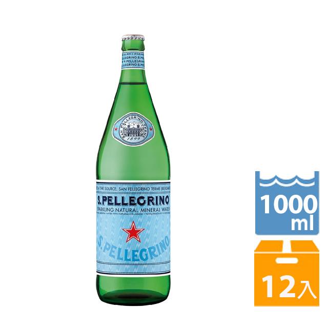 聖沛黎洛 氣泡礦泉水(1000mlx12入)