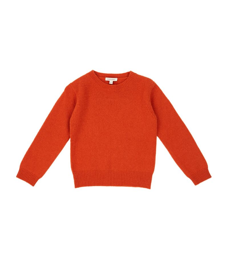 Caramel Blue Whale Sweater (8-12 Years)