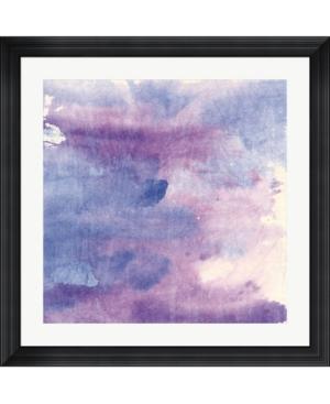 """Metaverse Purple Haze Ii by Chris Paschke Framed Art, 32"""" x 32"""""""