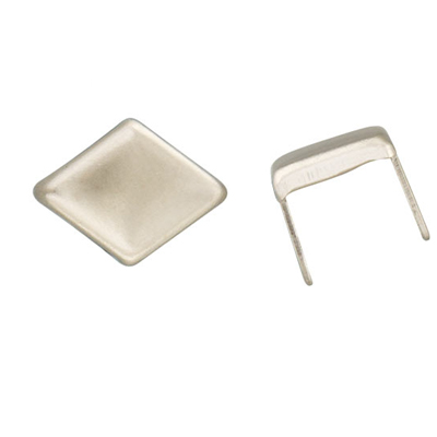 IVAN 9.5mm鎳色菱形爪釘(30/包) 1332-32