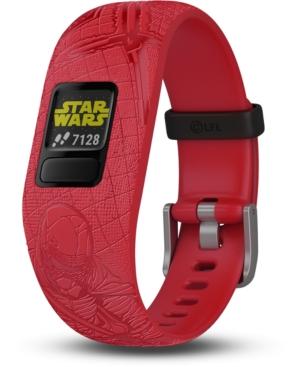Garmin Kid's vivofit jr. 2 Dark Side Red Silicone Strap Smart Watch 11mm