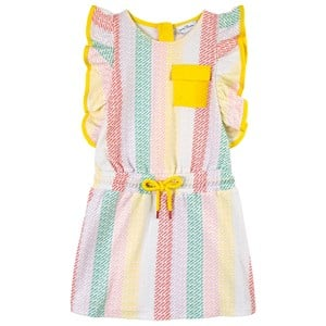 The Marc Jacobs The Marc Jacobs Multicolour Logo Striped Dress 8 years