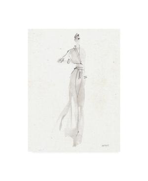 "Anne Tavoletti La Fashion Iv Gray v2 Canvas Art - 15.5"" x 21"""