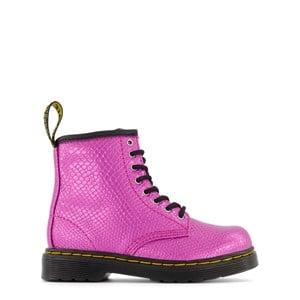 Dr. Martens Pink 1460 J Reptile Emboss Boots 30 (UK 11.5)