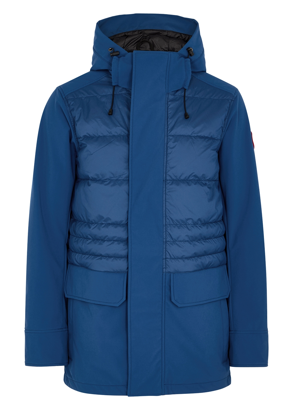 Breton blue quilted Tri-Durance shell jacket