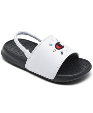 Champion Toddler Boys Ipo Circular Logo Slide Sandals from Finish Line