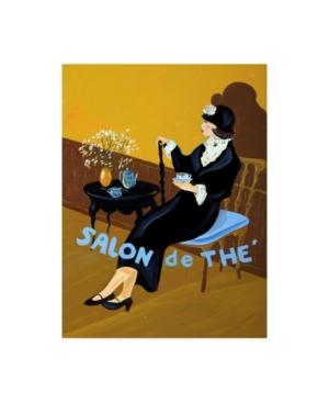 "Patricia A. Reed Salon De the I Canvas Art - 19.5"" x 26"""
